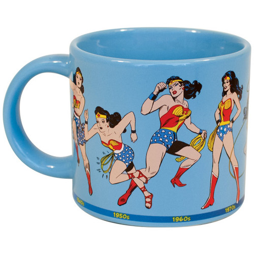 Image for Wonder Woman Through the Years Coffee Mug