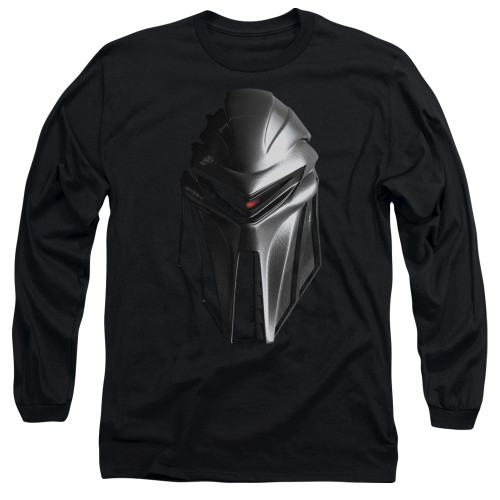 Image for Battlestar Galactica Long Sleeve Shirt - Cylon Head
