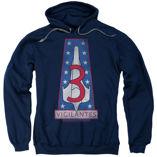 Image for Battlestar Galactica Hoodie - Vigilantes Badge