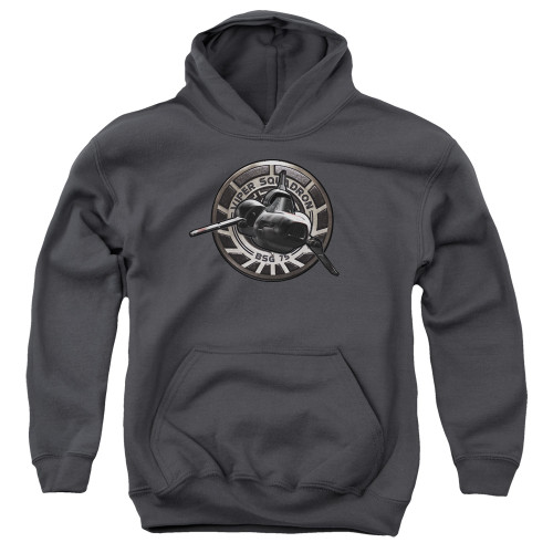 Image for Battlestar Galactica Youth Hoodie - Viper Squadron