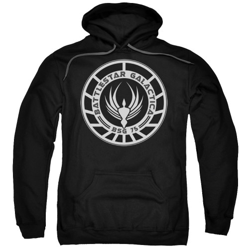 Image for Battlestar Galactica Hoodie - Galactica Badge