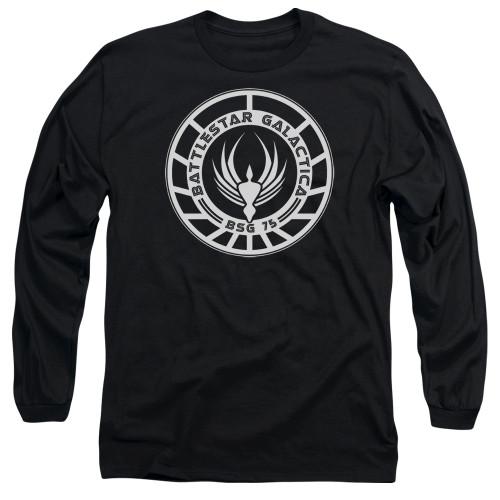 Image for Battlestar Galactica Long Sleeve Shirt - Galactica Badge