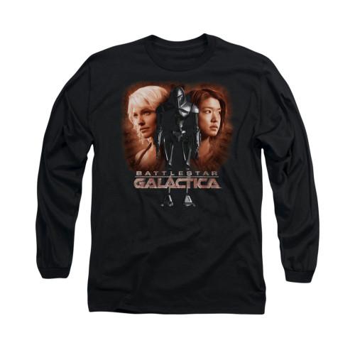 Image for Battlestar Galactica Long Sleeve Shirt - Created by Man