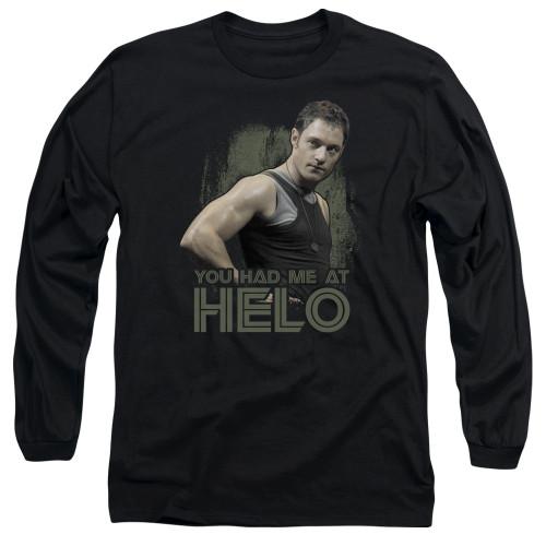 Image for Battlestar Galactica Long Sleeve Shirt - You Had Me at Helo