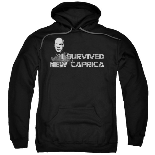 Image for Battlestar Galactica Hoodie - I Survived New Caprica