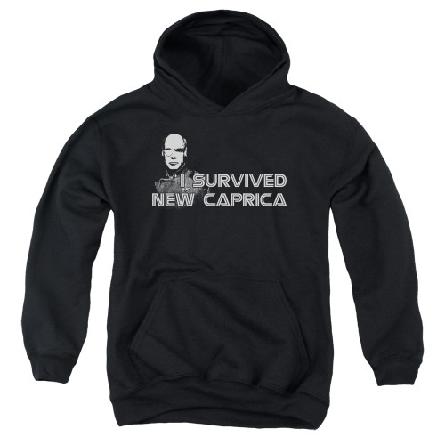Image for Battlestar Galactica Youth Hoodie - I Survived New Caprica
