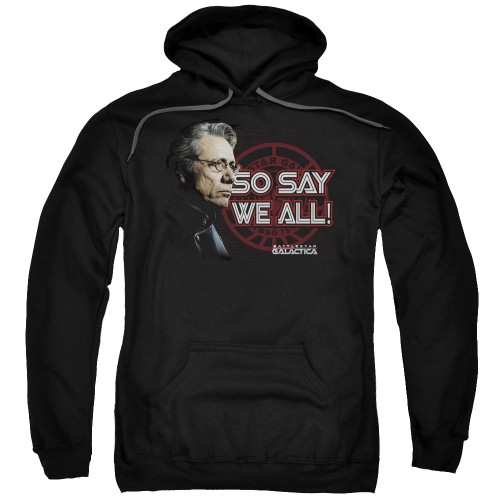 Image for Battlestar Galactica Hoodie - So Say We All