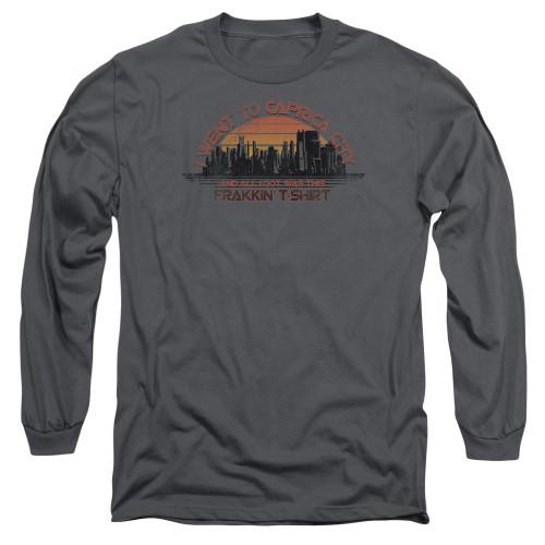 Image for Battlestar Galactica Long Sleeve Shirt - Carpica City