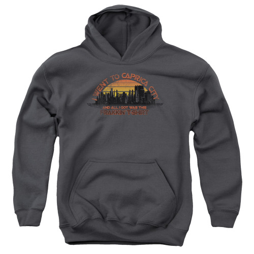 Image for Battlestar Galactica Youth Hoodie - Carpica City