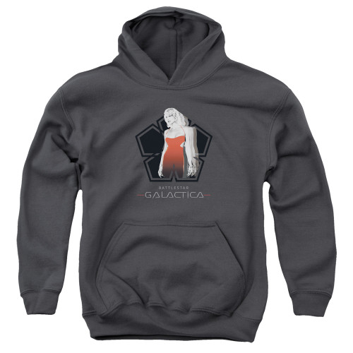 Image for Battlestar Galactica Youth Hoodie - Cylon Tech