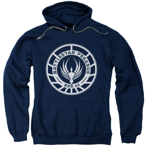 Image for Battlestar Galactica Hoodie - Pegasus Badge