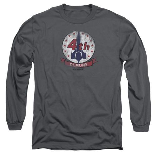 Image for Battlestar Galactica Long Sleeve Shirt - Demons Badge