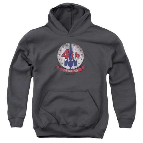 Image for Battlestar Galactica Youth Hoodie - Demons Badge