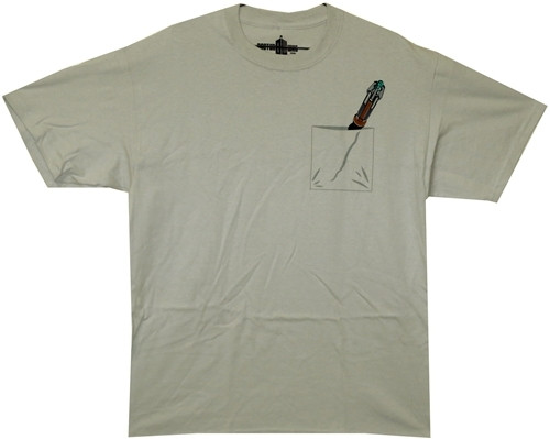 image for Doctor Who T-Shirt - Sonic Screwdriver in Pocket