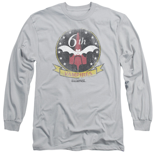 Image for Battlestar Galactica Long Sleeve Shirt - Vampires Badge