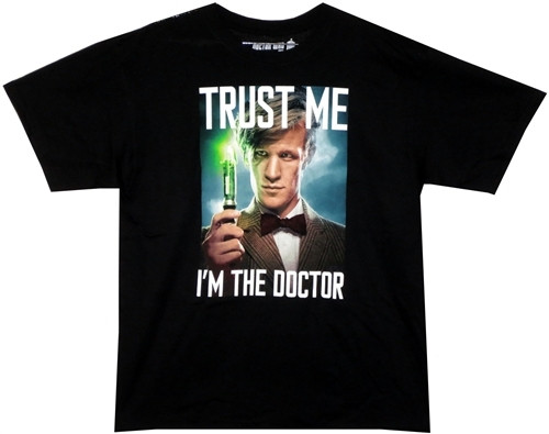 Image detail for Doctor Who T-Shirt - Trust Me