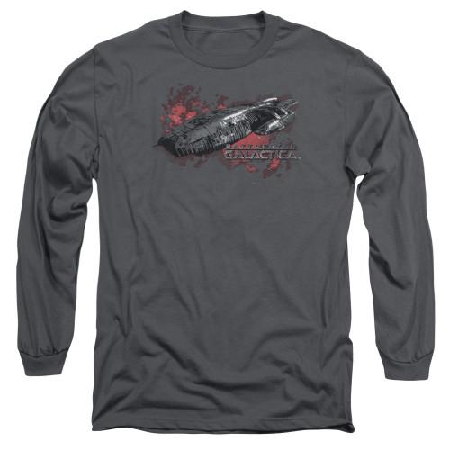 Image for Battlestar Galactica Long Sleeve Shirt - the Ship