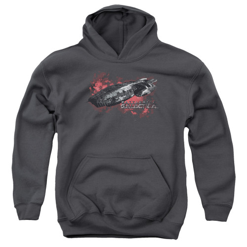 Image for Battlestar Galactica Youth Hoodie - the Ship