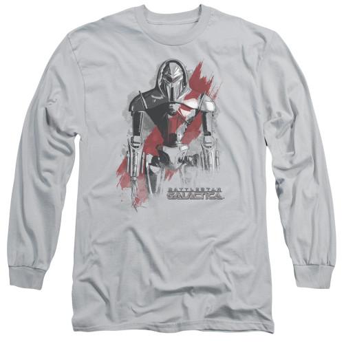 Image for Battlestar Galactica Long Sleeve Shirt - Bloody Centurion