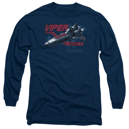 Image for Battlestar Galactica Long Sleeve Shirt - Viper Mark II