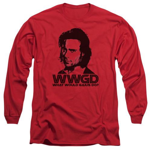 Image for Battlestar Galactica Long Sleeve Shirt - WWGD