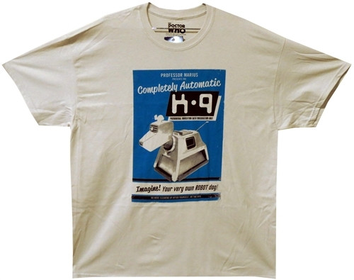 Image for Doctor Who T-Shirt - K-9 Poster