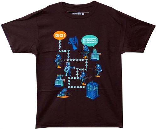 Image for Doctor Who T-Shirt - Worlds in Time Game