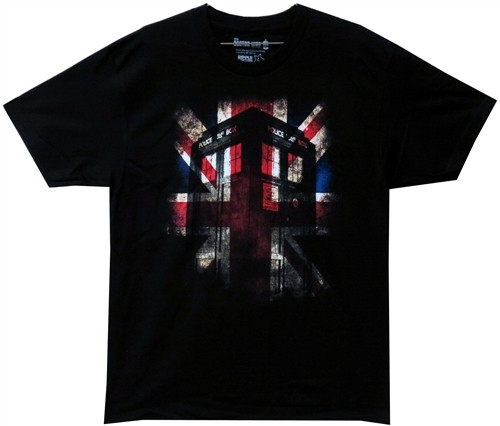 Image for Doctor Who T-Shirt - Union Jack
