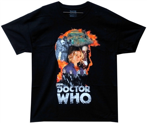 Image for Doctor Who T-Shirt - 10th Doctor Head