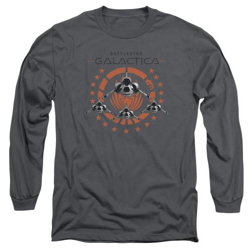 Image for Battlestar Galactica Long Sleeve Shirt - Squadron