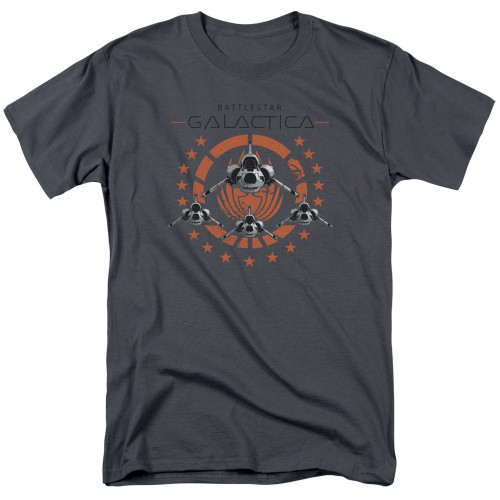 Image for Battlestar Galactica T-Shirt - Squadron