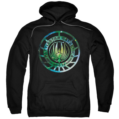 Image for Battlestar Galactica Hoodie - New Galaxy Emblem