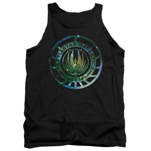 Image for Battlestar Galactica Tank Top - New Galaxy Emblem