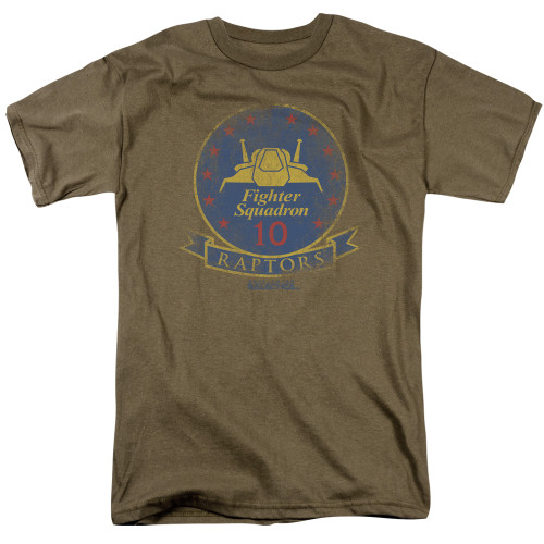 Image for Battlestar Galactica T-Shirt - Raptor Badge