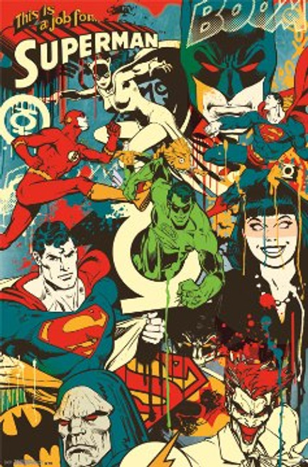 Image for DC Comics Poster - Throwback