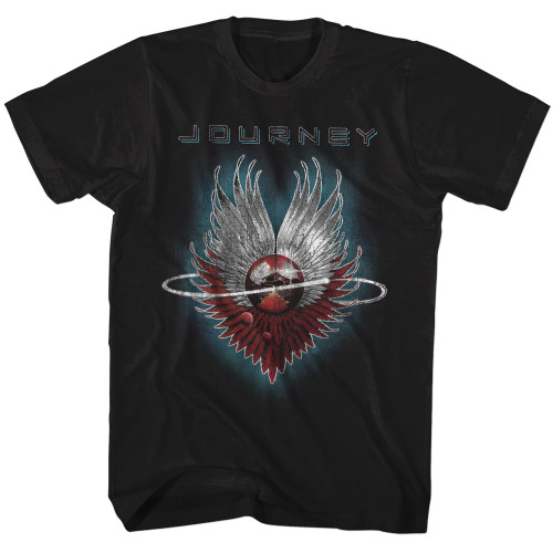 Image for Journey T-Shirt - Swirl Logo