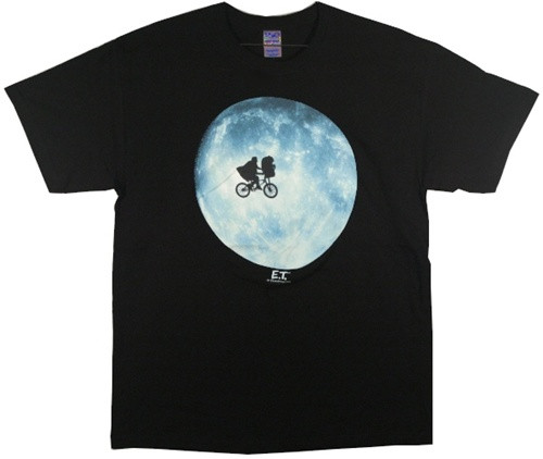 Image Closeup for ET the Extraterrestrial T-Shirt