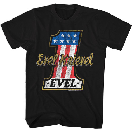 Image for Evel Knievel T-Shirt - American 1