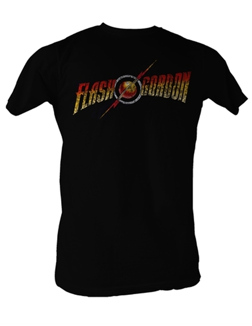 Image Closeup for Flash Gordon Logo T-Shirt