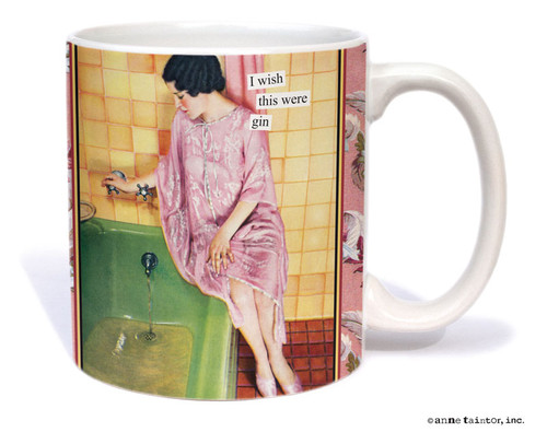 Image for I Wish This Was Gin Coffee Mug
