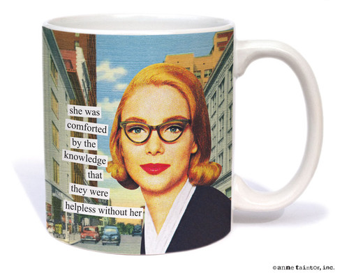 Image for Helpless Without Her Coffee Mug