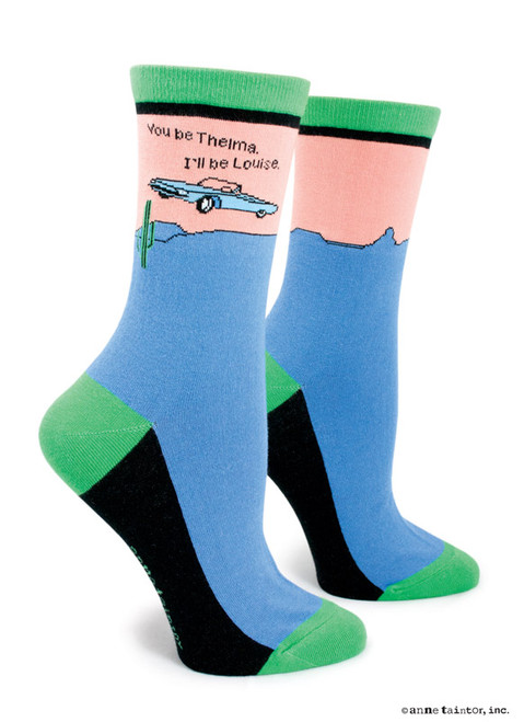 Image for You be Thelma I'll be Louise Socks