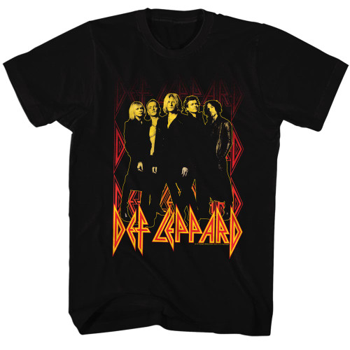 Image for Def Leppard T-Shirt - On Fire