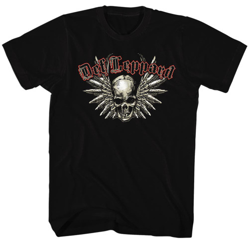 Image for Def Leppard T-Shirt - Winged Skull