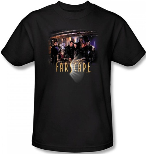 Image Closeup for Farscape Cast T-Shirt
