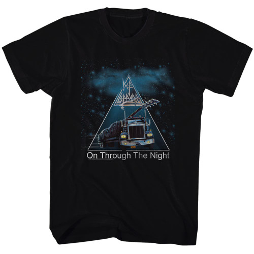 Image for Def Leppard T-Shirt - On Through the Night