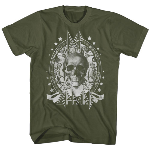 Image for Def Leppard T-Shirt - Skull