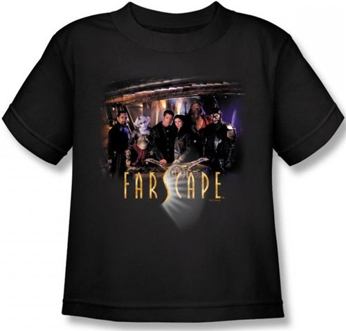 Image for Farscape Cast Kid's T-Shirt