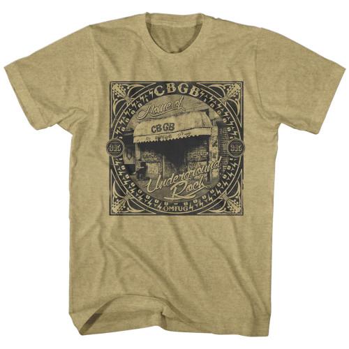 Image for CBGB T-Shirt - Underground Rock