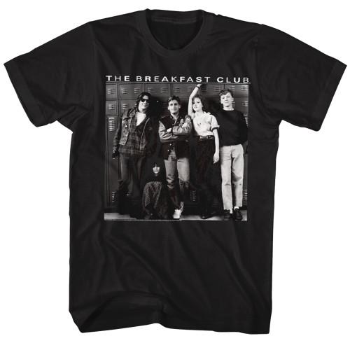 Image for The Breakfast Club T-Shirt - Locker Pose